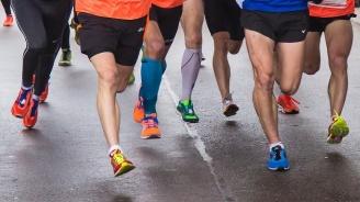 Състезатели пробягаха 10 км в най-голямата изба на света