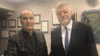 Цветан Цветанов се срещна с посланика на Германия в България