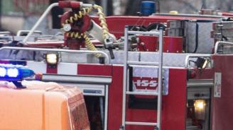 Мъж пострада при взрив на газова бутилка