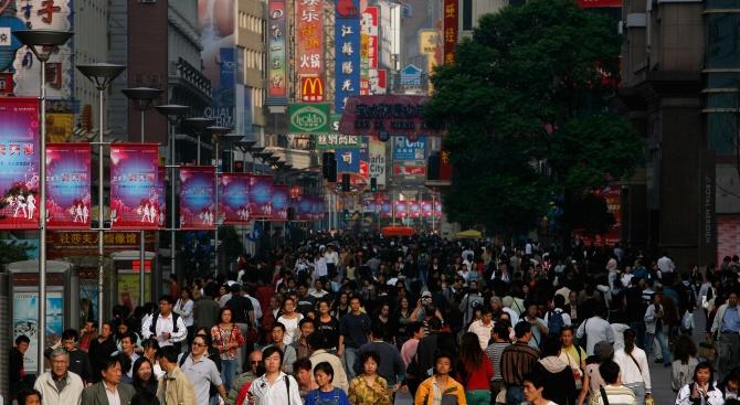 Населението на Китай нарасна с 15,23 милиона души през 2018
