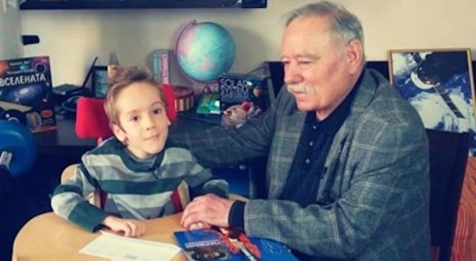 9-годишният Стефан, който страда от спинална мускулна атрофия, замина на