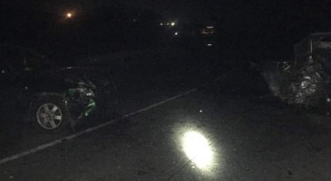 Челен пътен инцидент е станал на етапната връзка преди Каспичан.