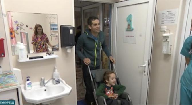 Нов обрат в лечението на 9-годишния Стефан, който страда от
