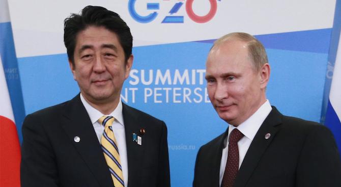 Премиерът на Япония Шиндзо Абе заяви, че той и президентът