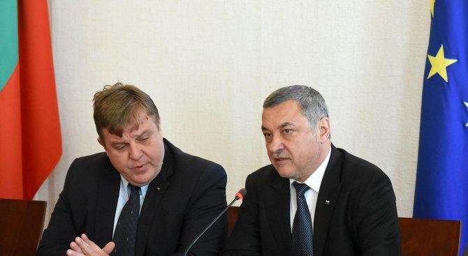 НФСБ спира преговорите с ВМРО за общо явяване на изборите за Европейски парламент
