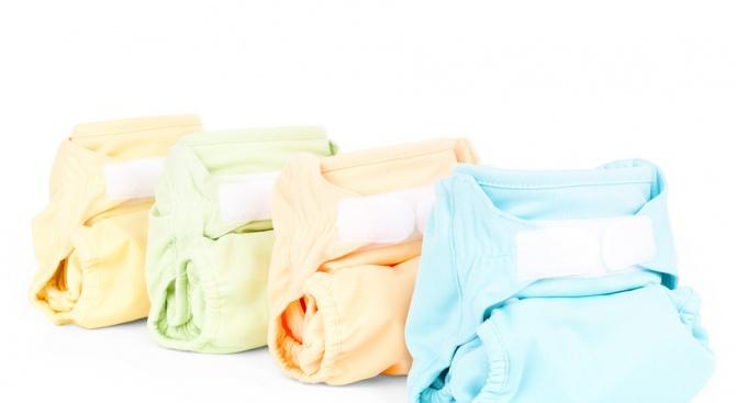 Снимка: Във Франция са установени токсични вещества в бебешки пелени за еднократна употреба