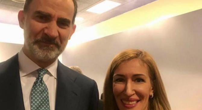 Министърът на туризма Николина Ангелкова се срещна с краля на