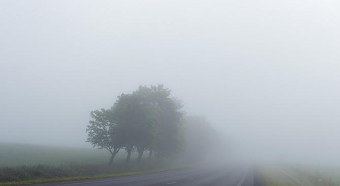 До 100 метра е намалена видимостта на Приморски проход в