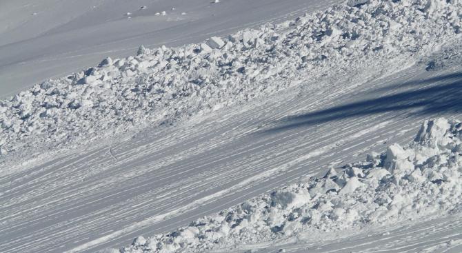 Значителна е лавинната опасност в Пирин и Родопите