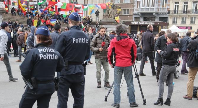 70 000 излязоха на протест в Брюксел