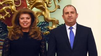 Радев и Йотова с пресконференция по повод втората годишнина от встъпването си в длъжност