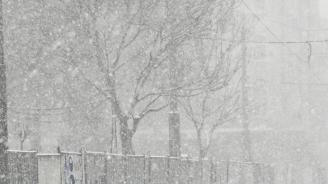 Жълт код за дъжд и сняг в 7 области утре