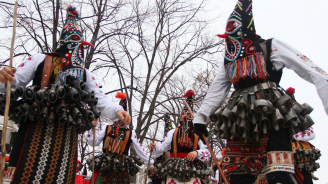 """120 маскарадни групи на 28-ия фестивал """"Сурва"""" (снимки)"""