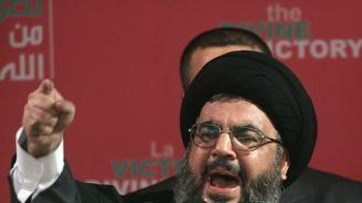Лидерът на Хизбула предупреди Израел да престане с нападенията си в Сирия