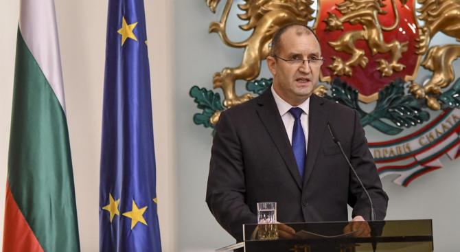 Радев пред дипломатическия корпус: Външната политика на България е насочена към сигурност, стабилност, диалог и сътрудничество