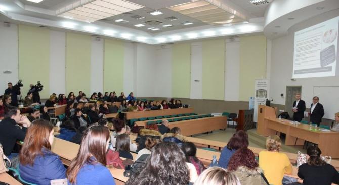 Представители на бизнеса  в Германия са се срещнали  със студенти в Русе