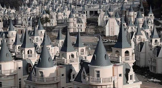Спряха строежа на комплекс от 732 замъка в Турция за $200 млн (видео)