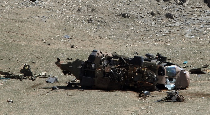 Разби се хеликоптерът на нигерийския вицепрезидент (снимка)
