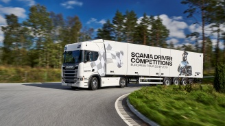 Запишете се за Scania Driver Competitions
