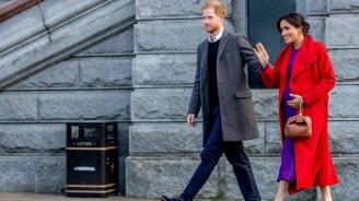 Принц Хари и Меган - разделени на първия си семеен Свети Валентин