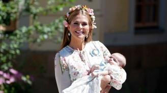 Шведската принцеса Маделин пише детска книга