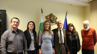 Ангелкова проведе работна среща с ръководството на Съюза на екскурзоводите в България