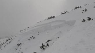 Като по чудо: Сноубордист активира лавина в Пирин, измъкна се невредим