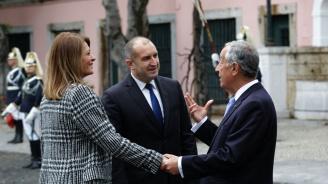"""Румен Радев обсъди пакета """"Мобилност"""" с португалския си колега"""