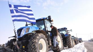Гръцки фермери обявиха безсрочна блокада на пътя Серес-Солун