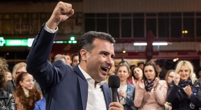 Македонският премиер Зоран Заев написа в своята страница във Фейсбук,