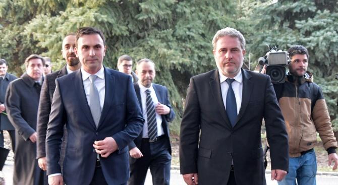Министърът на културата на Република Македония Асаф Адеми заедно с