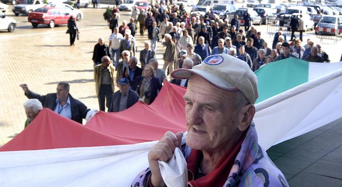 Пенсионерски организации искат преизчисляване на пенсиите