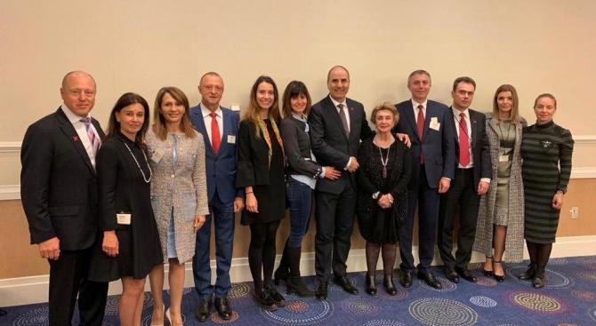 Цветан Цветанов и българска делегация участваха в Молитвената закуска с президента на САЩ Доналд Тръмп