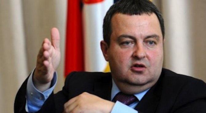 Сърбия никога не е предприемала едностранни стъпки - нито заради
