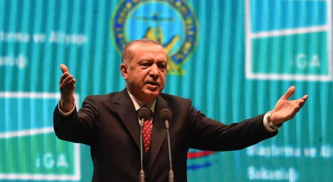 Ердоган: Всички терористи, които убиват мюсюлмани, използват западни оръжия