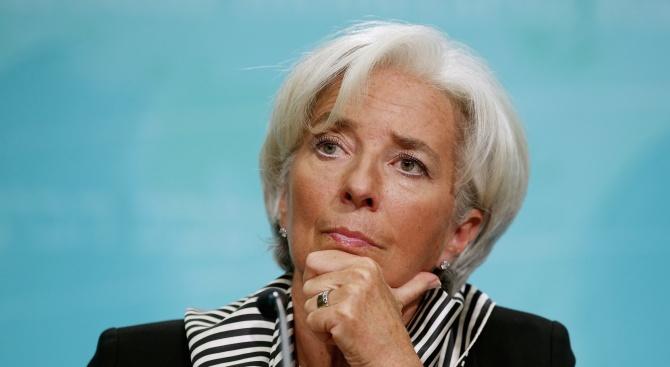 Шефката на МВФ предупреждава за опасност от икономическа буря