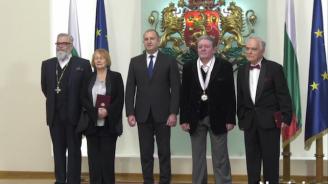 Румен Радев удостои културни дейци и учени с висши държавни отличия (снимки+видео)