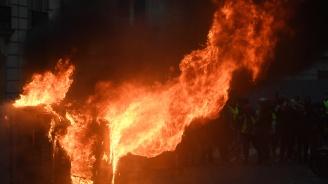 Жена е убила осем души в огнения парижки Ад (видео)
