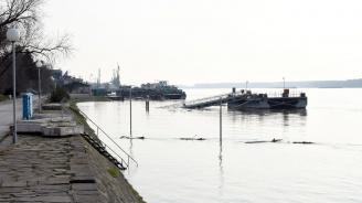 Нивото на река Дунав се е повишило