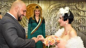 Софка се омъжи в оранжева рокля (снимки+видео)