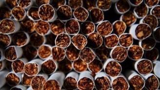 Спипаха голямо количество контрабандни цигари