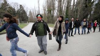 Протест в Хасково срещу строеж в парк
