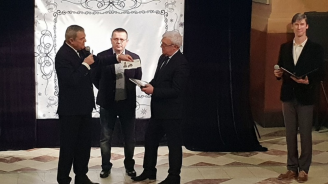 Румен Петков, Пламена Заячка и Иван Гранитски - почетоха годишнина от основаването на Държавния исторически музей в Москва