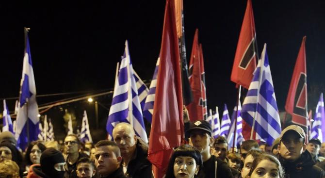 Бомба гръмна пред офис на гръцки неонацисти