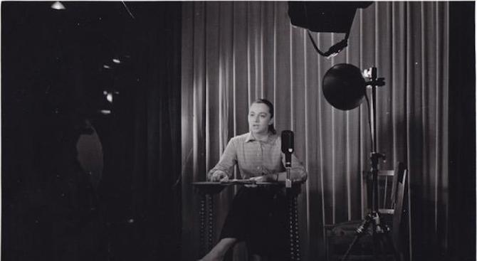 Снимка: Почина първата телевизионна говорителка в България
