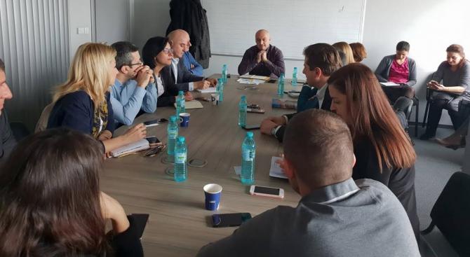 Областният предизборен щаб на ГЕРБ-София проведе заседание