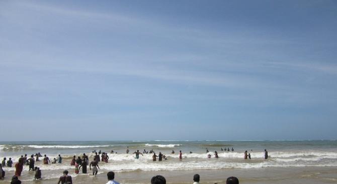 Земетресение с магнитуд 6 бе регистрирано в Бенгалския залив