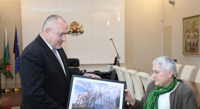 """Борисов се срещна с архитекта, под чието ръководство бе реставрирана желязната църква """"Св. Стефан"""" в Истанбул (снимки)"""