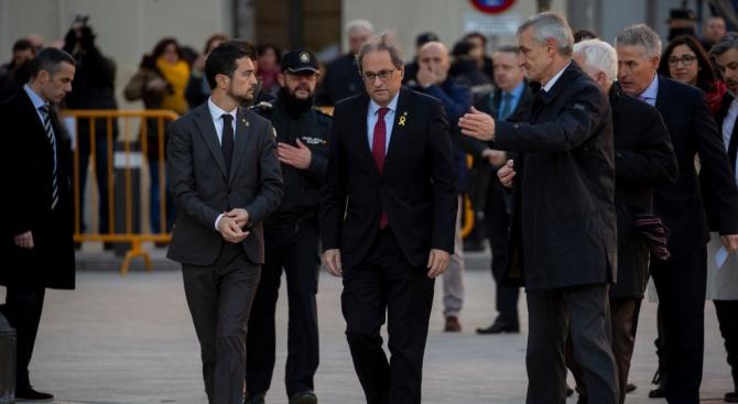 Испанският Върховен съд започна първото заседание от процеса срещу 12