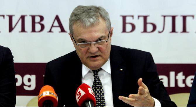 Председателят на ПП АБВ Румен Петков изрази безпокойство по повод